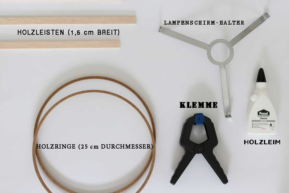 The Modern Traditional Baut Diy Lampenschirm Aus Holz The Modern