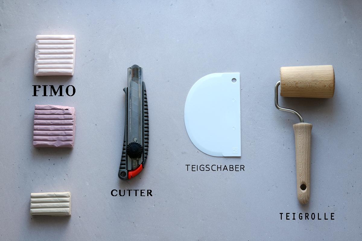 TMT_DIY_Fimo_Kartenhalter_Material